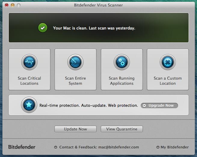 mac system scanner