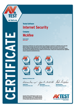 """<p>Download as: <a href=""""https://www.av-test.org/fileadmin/Content/Certification/2013/avtest_certified_home_2013_mcafee.pdf"""">PDF</a></p>"""