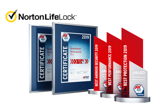 AV-TEST Award 2019 for NortonLifeLock