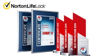 AV-TEST Award 2019 décerné à NortonLifeLock