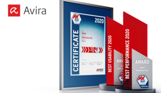 "This is the tenth time that the AV-TEST Institute is presenting its internationally renowned award for the best IT security products. The 2020 award in the test categories of usability and performance goes to the product ""Antivirus Pro"" from manufacturer Avira. The security program stood out thanks to continuously outstanding achievements, demonstrated in comprehensive tests throughout the period of the entire test year."