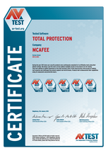 """<p>Download as: <a href=""""https://www.av-test.org/fileadmin/Content/Certification/2011/avtest_certified_home_2011_mcafee.pdf"""">PDF</a></p>"""