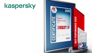 "This is the tenth time that the AV-TEST Institute is presenting its internationally renowned award for the best IT security products. The 2020 award in the test category of performance goes to the product ""Endpoint Security"" from manufacturer Kaspersky. The security program stood out thanks to continuously outstanding achievements, demonstrated in comprehensive tests throughout the period of the entire test year."