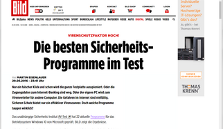 AV-TEST Medienspiegel II/2016
