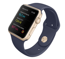 Die Apple Watch als Fitness- Tracker (Foto: Apple).