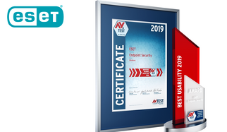 AV-TEST Award 2019 for ESET