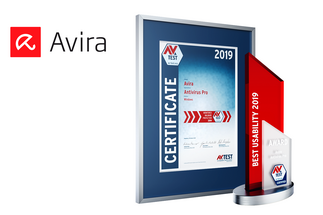 AV-TEST Award 2019 for Avira